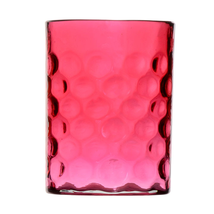 Cranberry Glass Tumbler