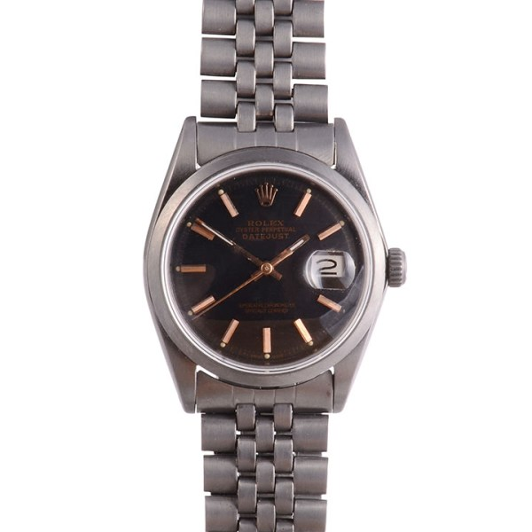 Black Rhodium Rolex Datejust