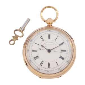 18K pocket watch