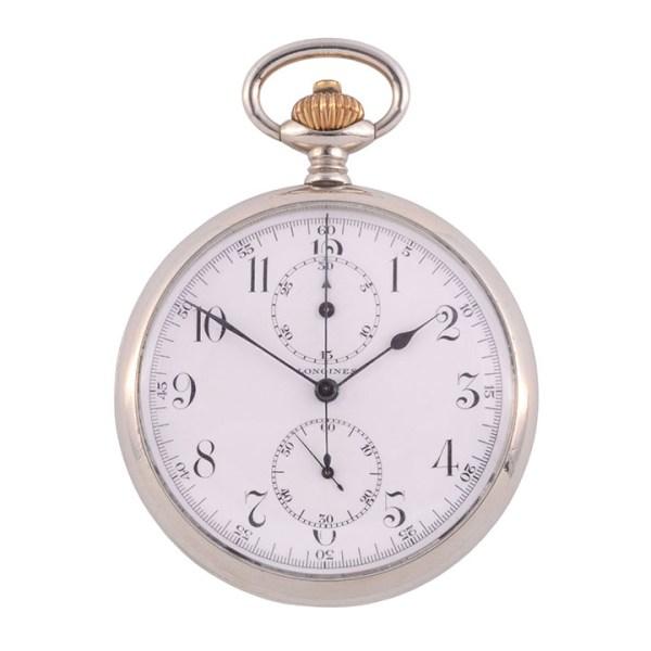 Longines Chronograph Pocket Watch