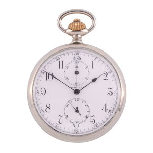 Longines Chronograph Pocket Watch