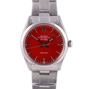 Rolex Air King red dial