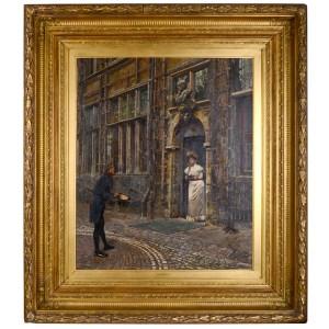 William Logsdaile painting
