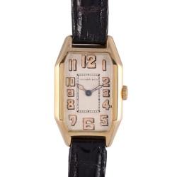 IWC for Tiffany Art Deco 18K Rare Wrist Watch