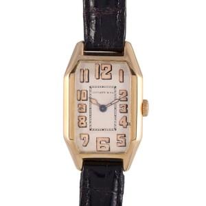 IWC for Tiffany Art Deco wrist watch