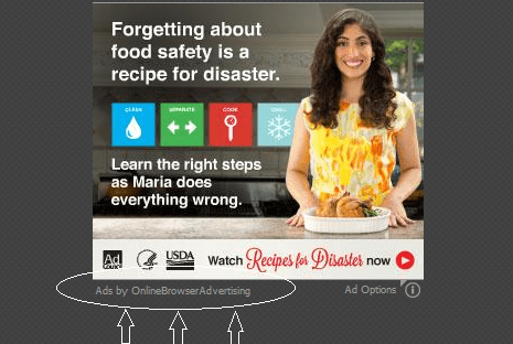 Ads by Online Browser Advertising