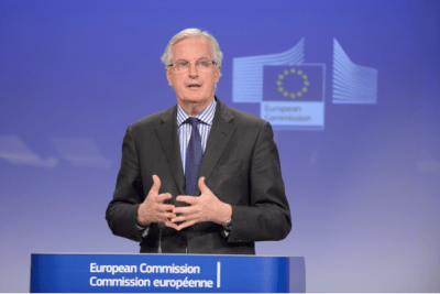 Michel Barnier, European Commissioner for Internal Market and Services 1