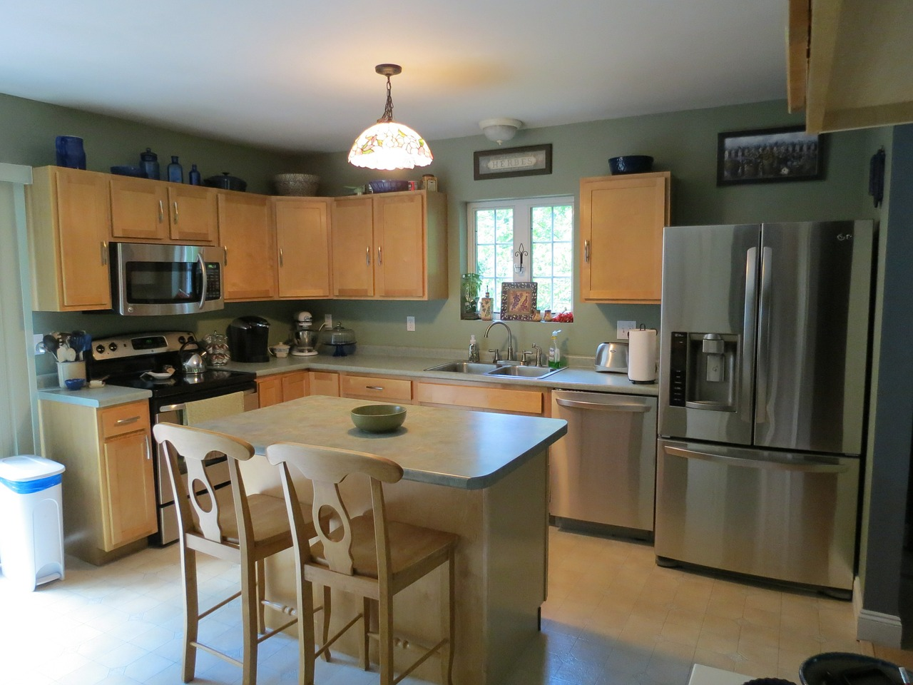 Rustic Country Kitchen Paint Colors