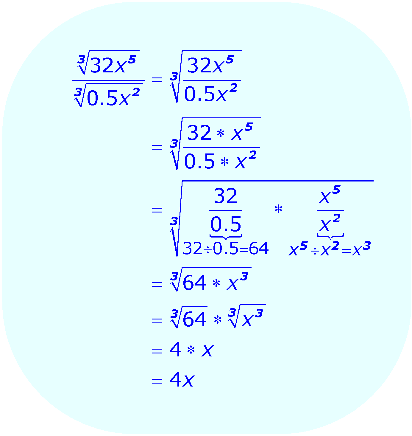 Simplify Equation Calculator