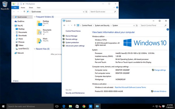 Windows 10 VPS Hosting by SolVPS® - Remote Desktop