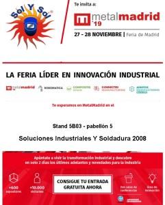 Solysol-Feria Madrid-Noviembre 2019