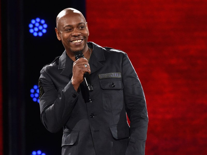 Dave Chappelle performs onstage at the Hollywood Palladium on March 25, 2016 in Los Angeles, California.