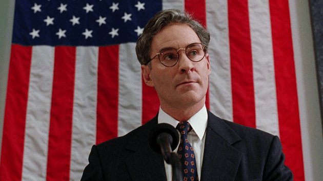 "Kevin Kline as Dave Kovic/President William Harrison ""Bill"" Mitchell in Dave."