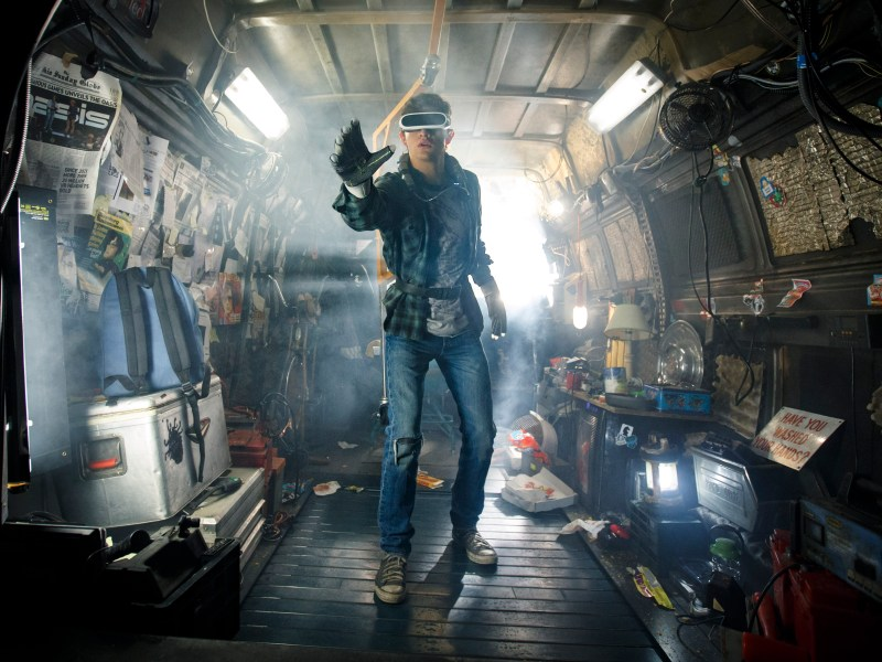 "TYE SHERIDAN as Wade in Warner Bros. Pictures', Amblin Entertainment's and Village Roadshow Pictures' action adventure ""READY PLAYER ONE,"" a Warner Bros. Pictures release."