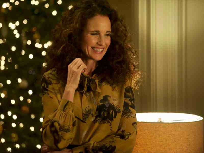 Andie MacDowell as Suzanne in Russ Harbaugh's LOVE AFTER LOVE.