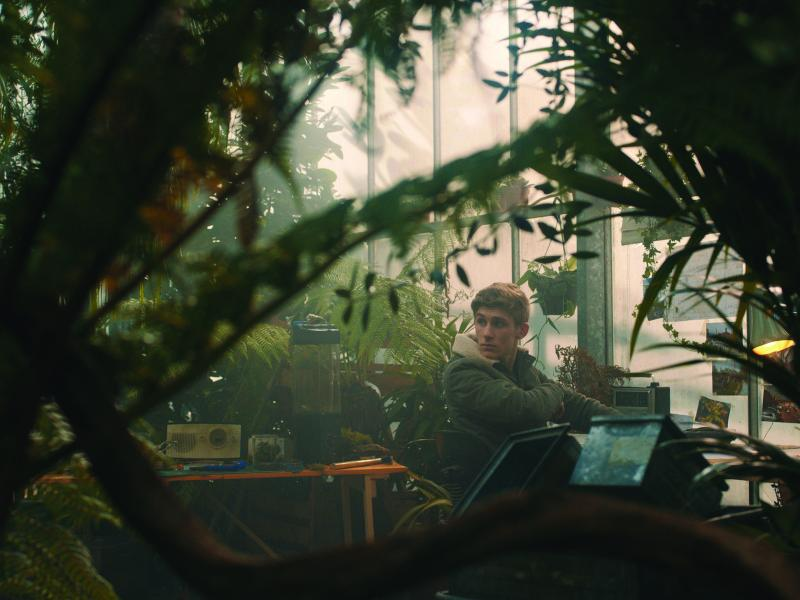 Fionn O'Shea as Kyle in EARTHY ENCOUNTERS.
