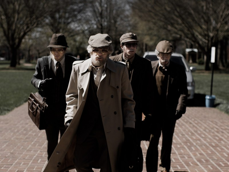 Jared Abrahamson, Evan Peters, Blake Jenner and Barry Keoghan appear in American Animals by Bart Layton, an official selection of the U.S. Dramatic Competition at the 2018 Sundance Film Festival.