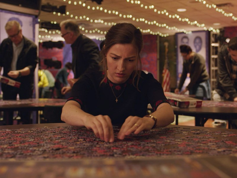 Kelly Macdonald appears in Puzzle by Marc Turtletaub, an official selection of the Premieres program at the 2018 Sundance Film Festival.