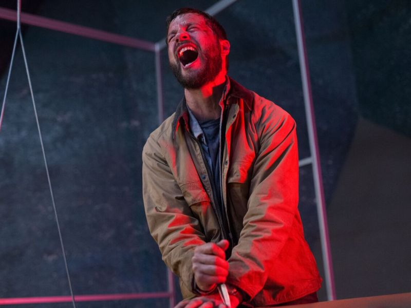 Grey Trace (Logan Marshall-Green) in Leigh Whannell's UPGRADE.