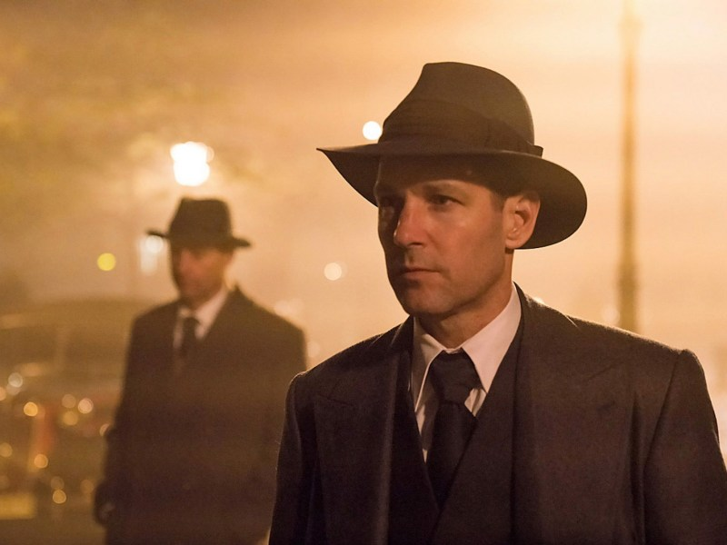 Paul Rudd appears in The Catcher Was A Spy by Ben Lewin, an official selection of the Premieres program at the 2018 Sundance Film Festival.