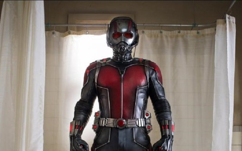 Paul Rudd in Ant-Man.