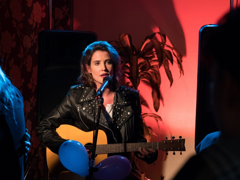 Cobie Smulders as Joanne in the film ALRIGHT NOW, a Gravitas Ventures release.