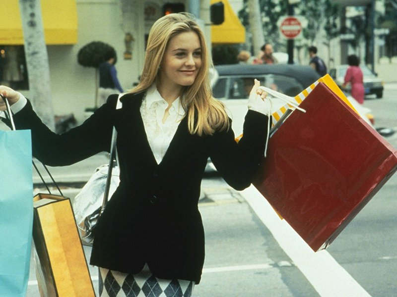 Alicia Silverstone in Clueless.