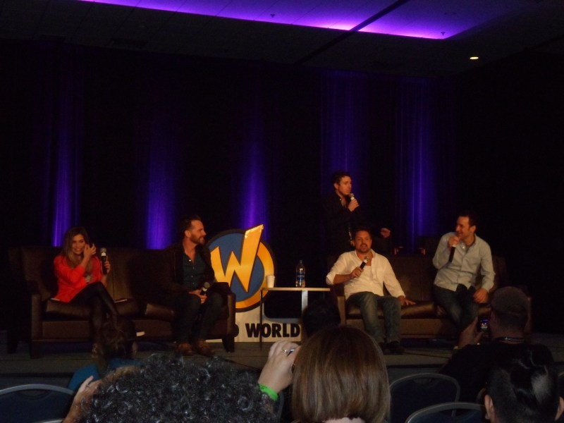 Danielle Fishel, Rider Strong, Will Friedle, and Ben Savage discuss Boy Meets World at Wizard World Chicago.