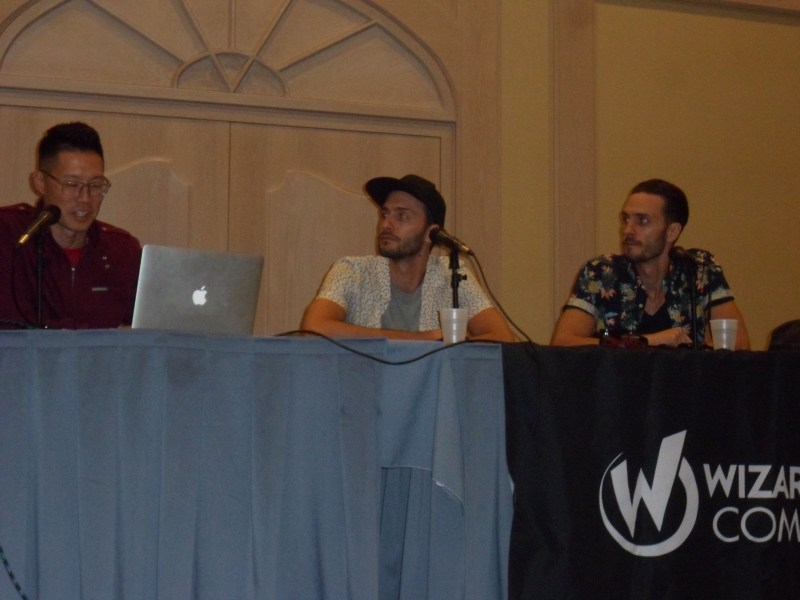 Kin directors Josh Baker and Jonathan Baker speak at a Q&A panel at Wizard World Chicago for their new film.