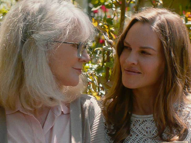 Blythe Danner and Hilary Swank star as Ruth Everhardt and Bridget Ertz,in WHAT THEY HAD, a Bleecker Street release.