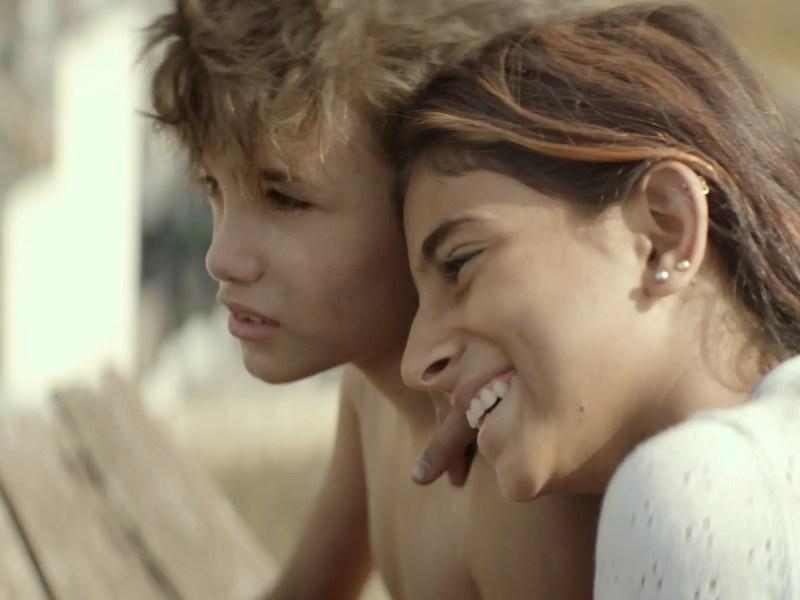 Zain Al Rafeea as Zain and Cedra Izam as Sahar in Capernaum.