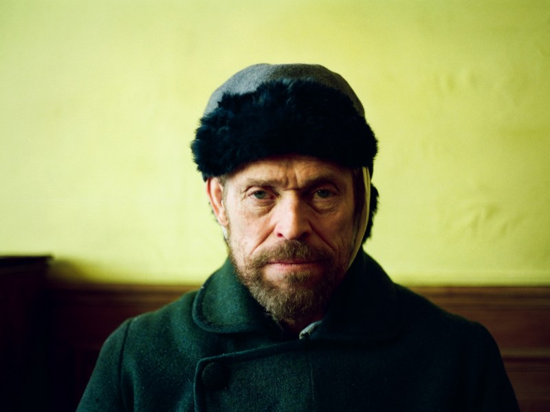 Willem Dafoe as Vincent Van Gogh in Julian Schnabel's At Eternity's Gate.