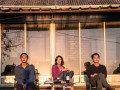 Yoo Ah-in, Jeon Jong-seo, and Steven Yeun in Burning.
