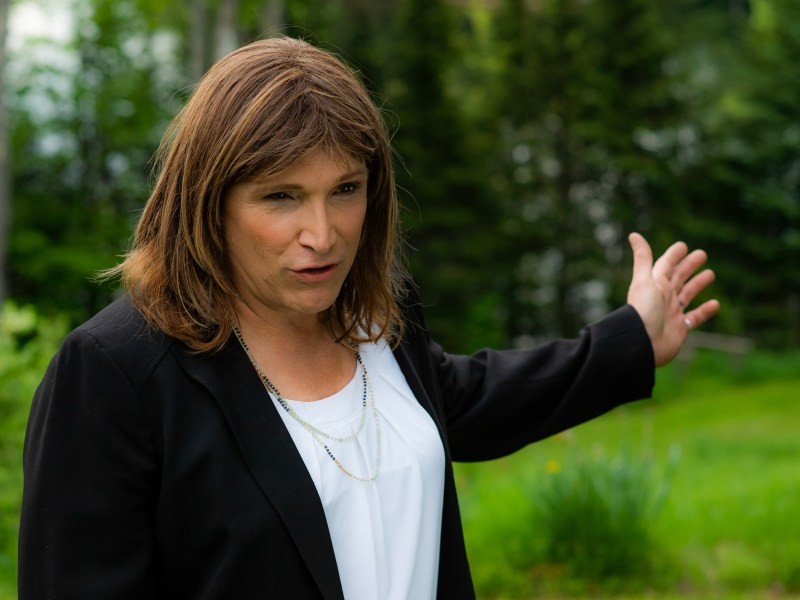 Christine Hallquist in Denial.