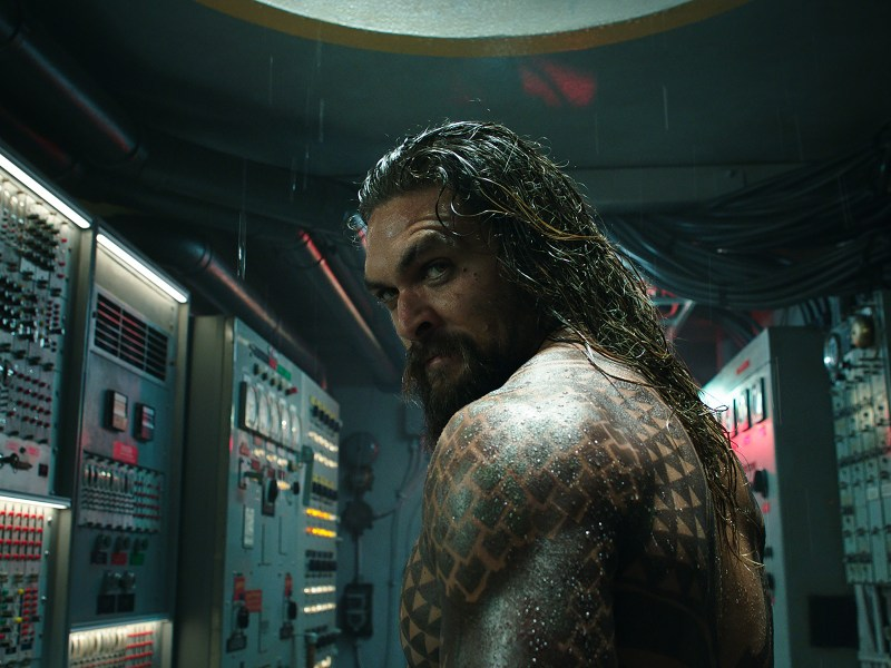 "JASON MOMOA as Aquaman in Warner Bros. Pictures' action adventure ""AQUAMAN,"" a Warner Bros. Pictures release."