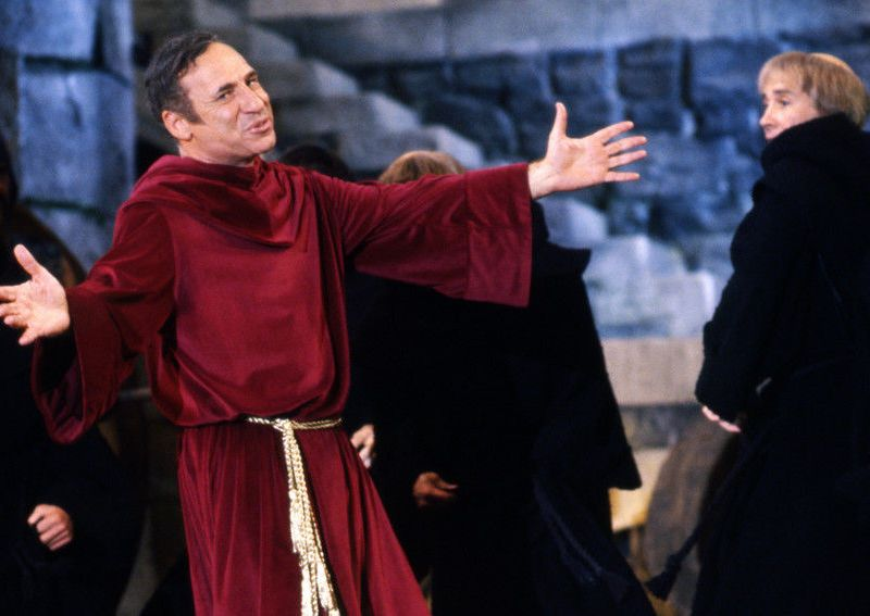 Mel Brooks as Torquemada in History of the World, Part I.