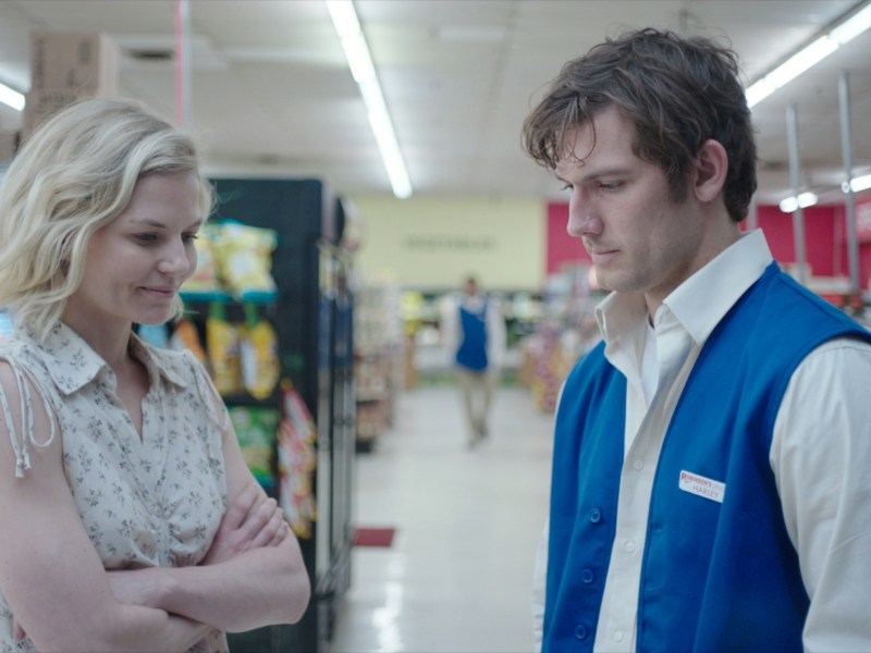 Jennifer Morrison and Alex Pettyfer in Back Roads.