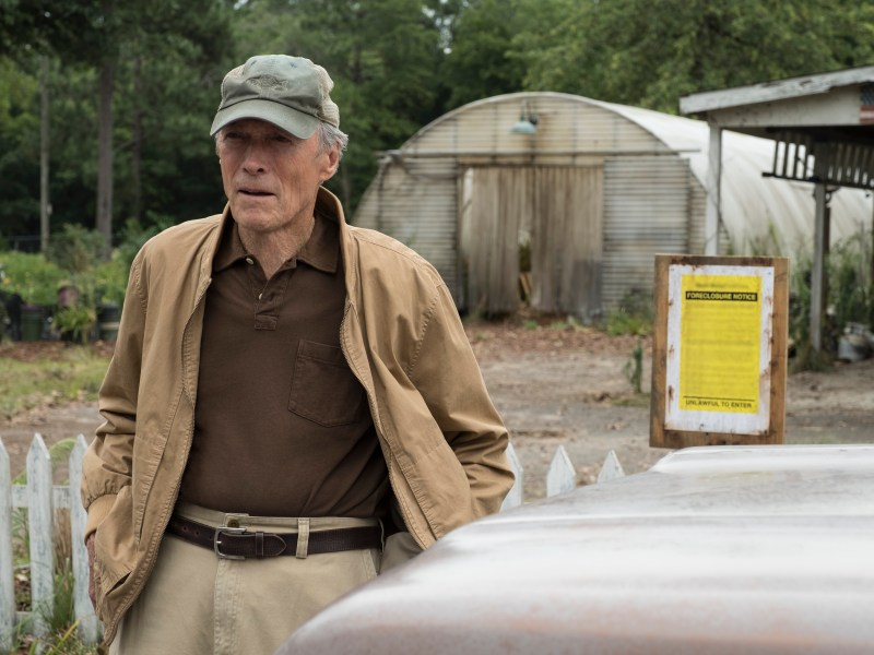 CLINT EASTWOOD as Earl Stone in Warner Bros. Pictures', Imperative Entertainment's and BRON Creative's The Mule, a Warner Bros. Pictures release.