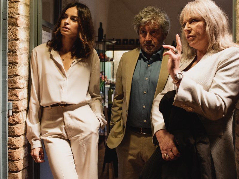 Kasia Smutniak, Antonio Catania and Krystyna Janda appear in Dolce Fine Giornata by Jacek Borcuch, an official selection of the World Cinema Dramatic Competition at the 2019 Sundance Film Festival.