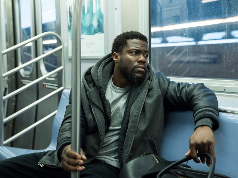Kevin Hart stars in The Upside.