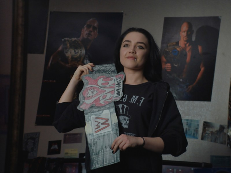 Florence Pugh appears in Fighting with My Family by Stephen Merchant, an official selection of the Premieres program at the 2019 Sundance Film Festival.