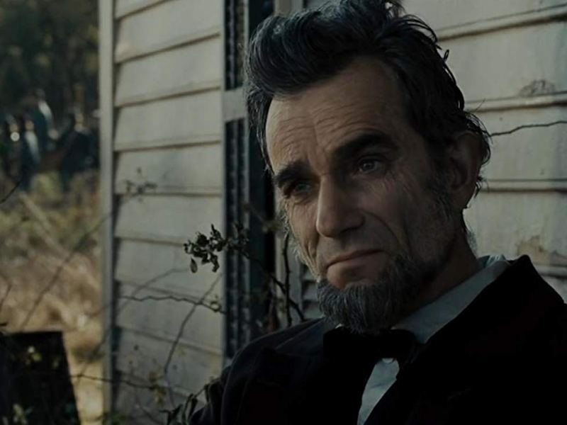 Daniel Day-Lewis as President Abraham Lincoln in Steven Spielberg's Lincoln.
