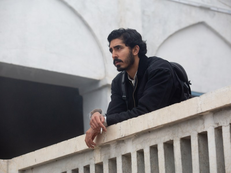 "Dev Patel as ""Jay"" in Michael Winterbottom's The Wedding Guest"