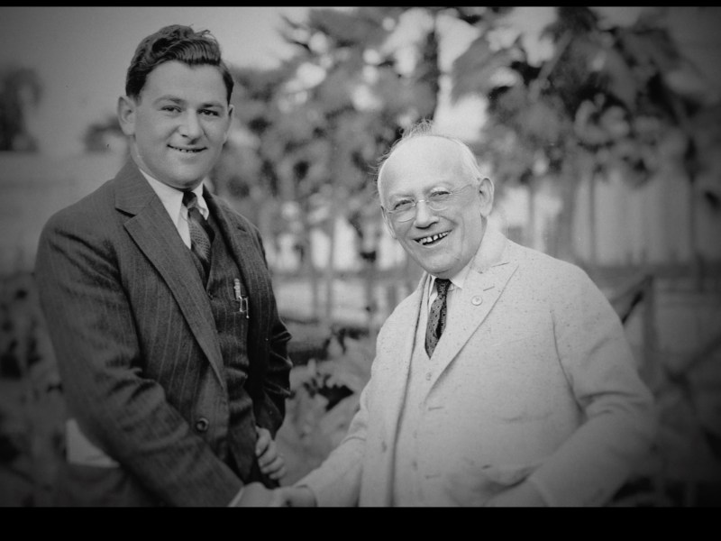William Wyler and Carl Laemmle