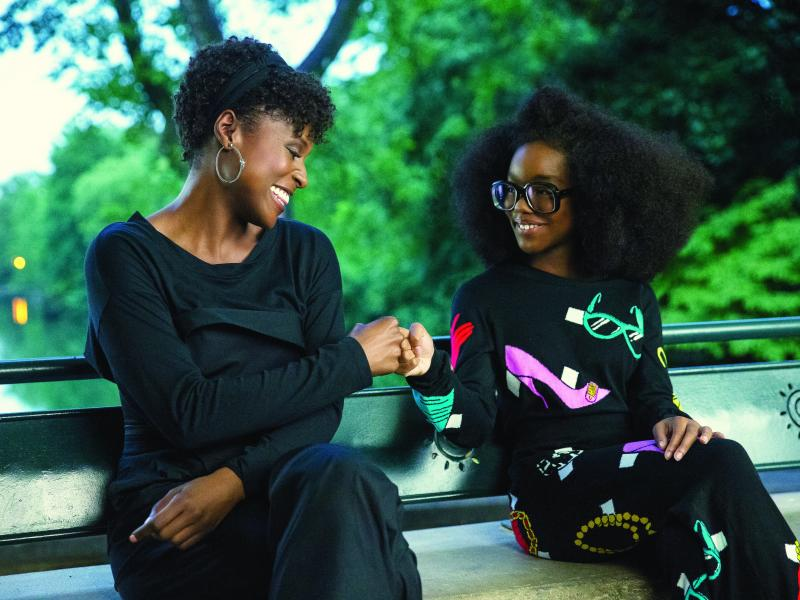 "April Williams (Issa Rae) and little Jordan Sanders (Marsai Martin) in ""Little,"" co-written and directed by Tina Gordon."