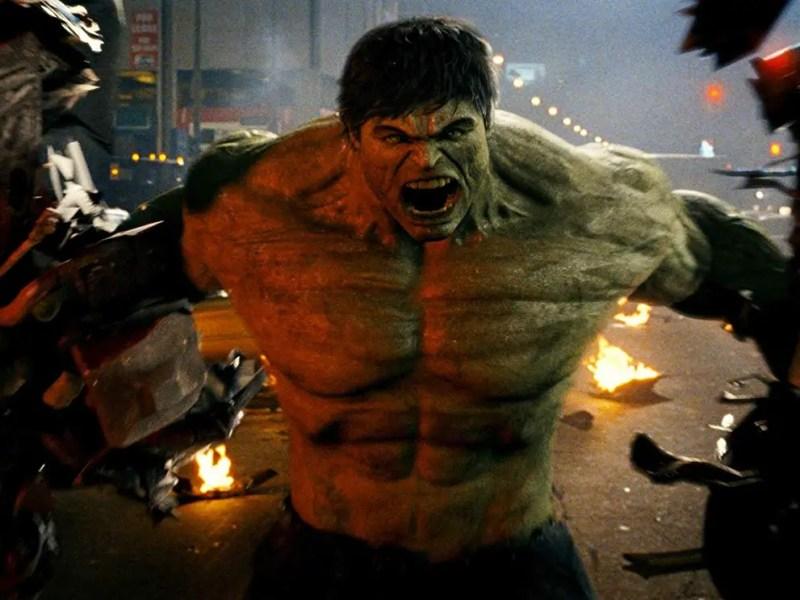 Ed Norton in The Incredible Hulk.