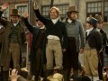 Peterloo featuring John-Paul Hurley as John Thacker Saxton, Ian Mercer as Dr. Joseph Healey, Rory Kinnear as Henry Hunt, and Neil Bell as Samuel Bamford.