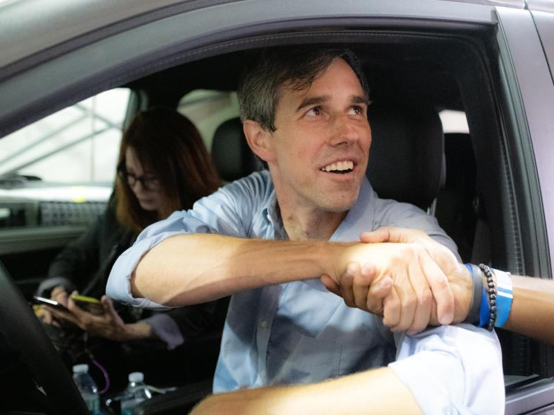 Beto O'Rourke in Running with Beto.