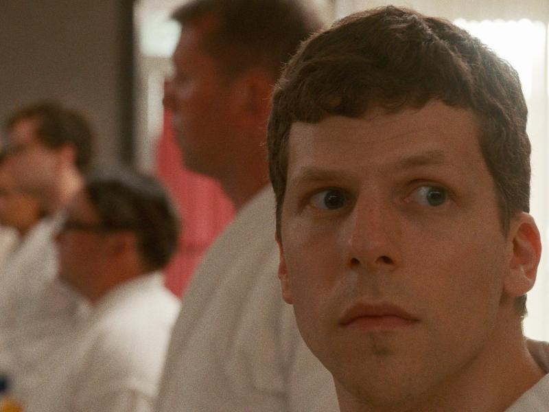 Jesse Eisenberg as Casey in Riley Stearns' The Art of Self-Defense.