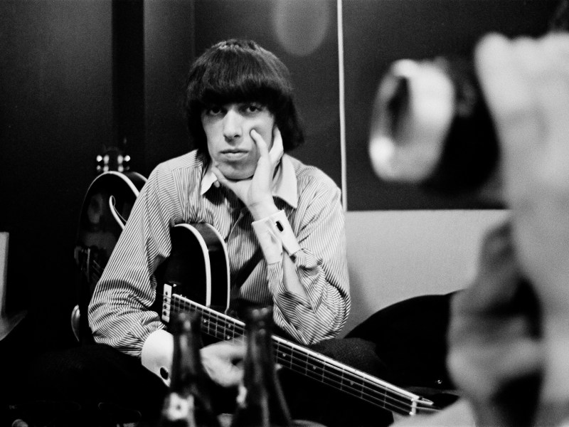 Bill Wyman in the Studio in The Quiet One.